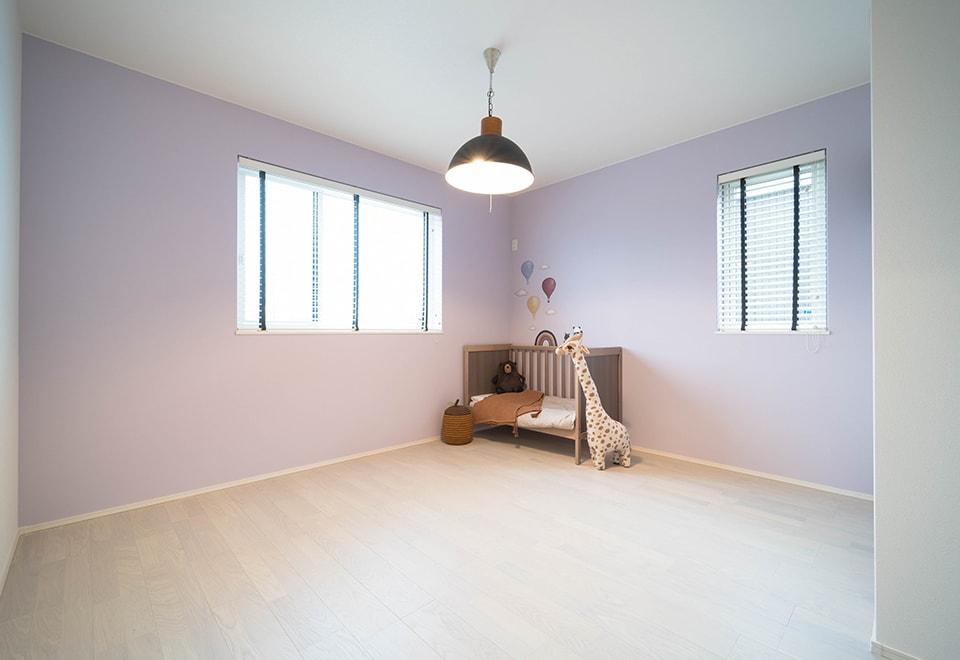 八戸モデルハウス「スタイリッシュガレージ」子供部屋