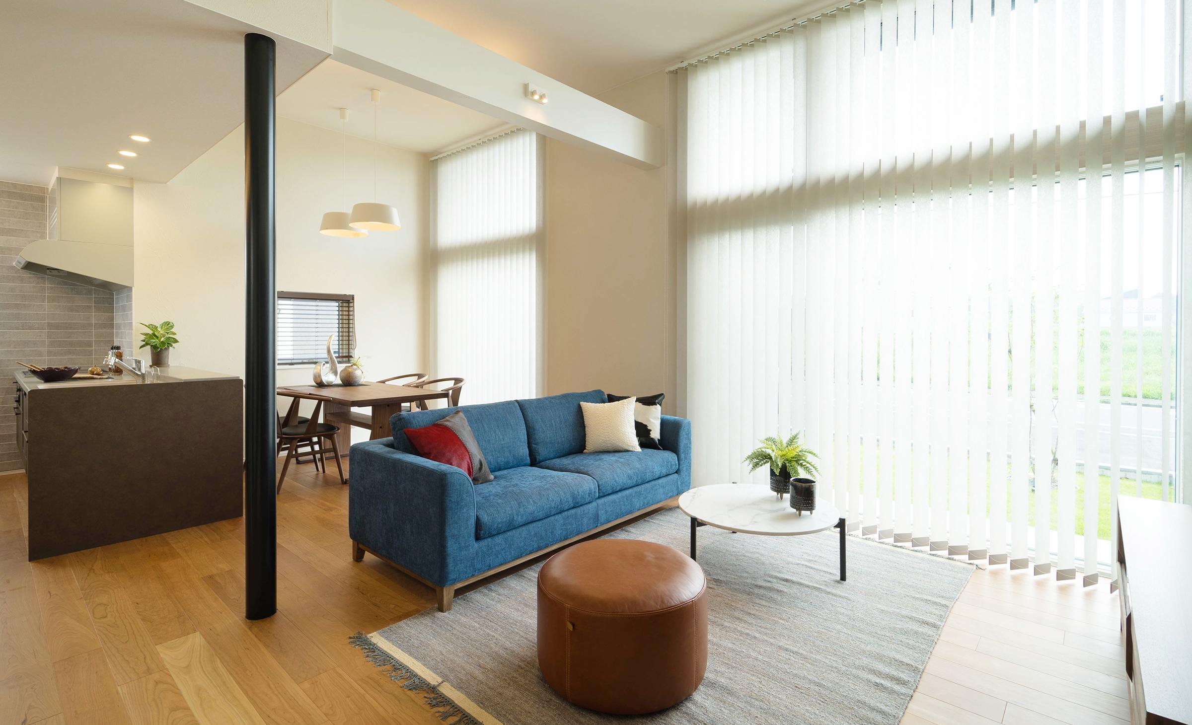 小松ヶ丘モデルハウス「リゾートスタイルの家01」
