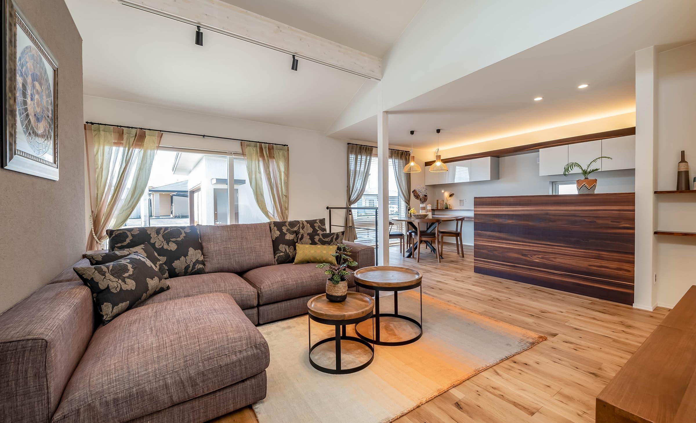 小松ヶ丘モデルハウス「平屋ベースの家01」