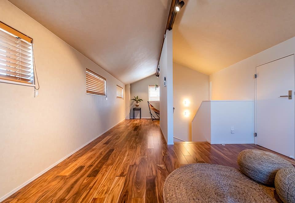 小松ヶ丘モデルハウス「平屋ベースの家」ロフトスペース