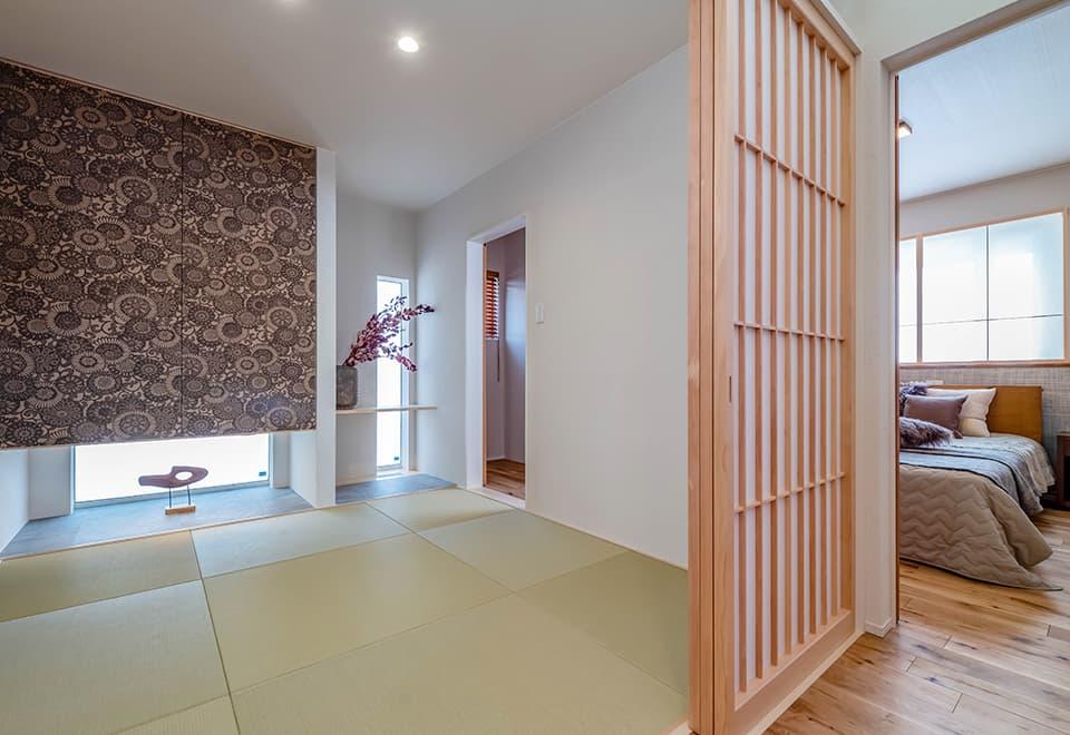 小松ヶ丘モデルハウス「平屋ベースの家」和室