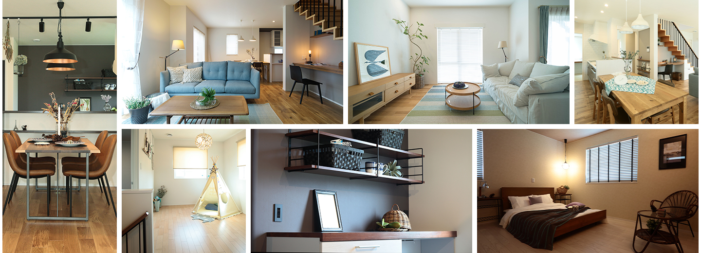 Collageの家ギャラリー01