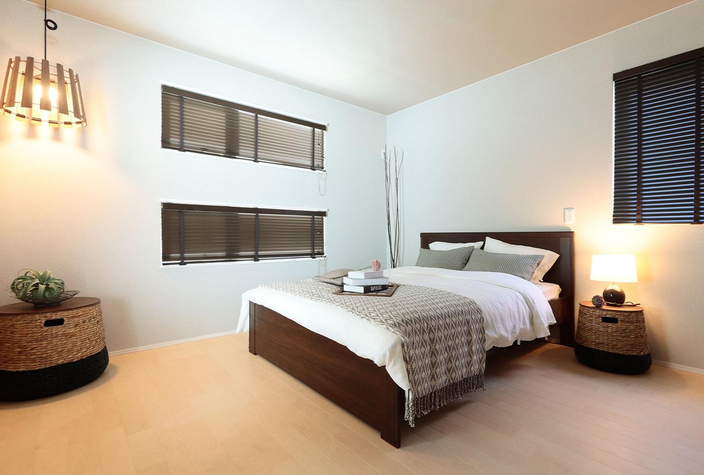 ぐっすり眠れる環境を。落ち着ける寝室のつくりかた