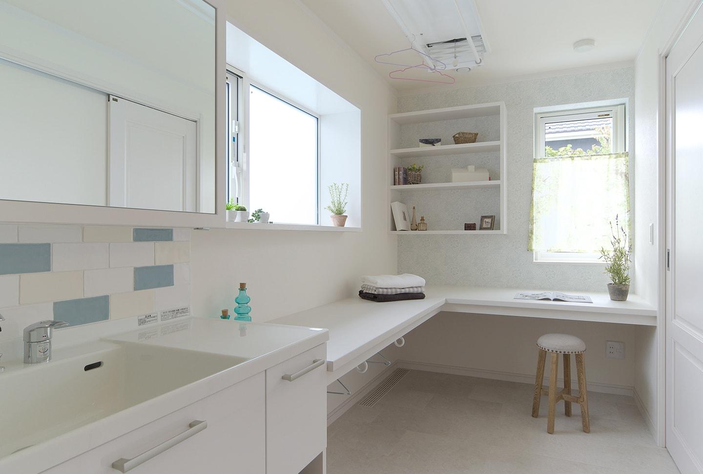 家事が楽になる!洗面脱衣室の動線・収納計画