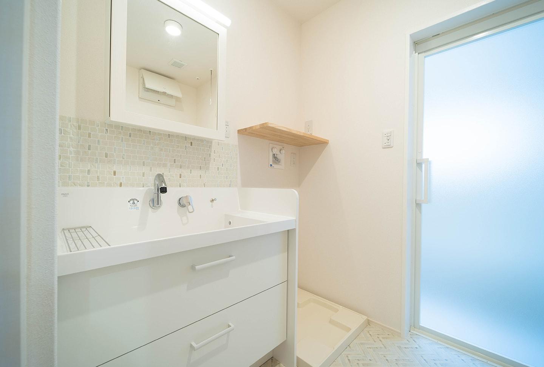 洗面脱衣室の広さはどのくらい?