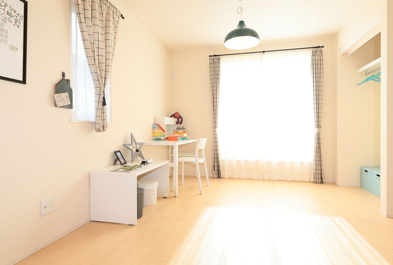 もっとかわいい子供部屋にしたい!新築住宅で失敗しないポイントは?