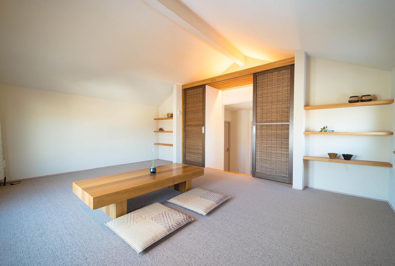 屋根裏のデッドスペースを有効活用